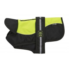 Reflective Hi-Viz/Black Padded Underbelly Harness Coat from