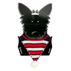 70210 A Bandana for Dogs - Blue Stripe
