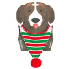 70200 A Bandana for Dogs - Green Stripe