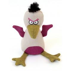 88240 Baby Eagle Cream Canvas Squeaky Toy