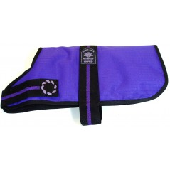 "DJD10P 10"" Purple Padded Fashion-Line Breathe-Comfort Dog coat with Padded Lining"