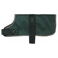 "DJW10PG 10"" Green Breathe-Comfort Dog coat with Padded Lining"