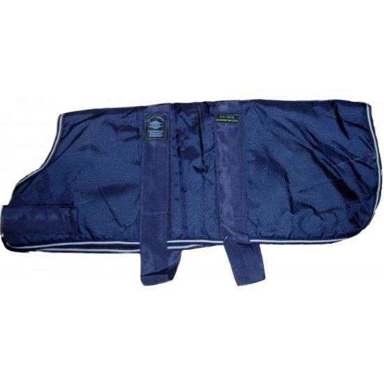 "DJW30PB 30"" Blue Breathe-Comfort Dog coat with Padded Lining"