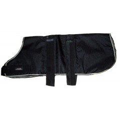 "DJW30PBK 30"" Black Breathe-Comfort Dog coat with Padded Lining"