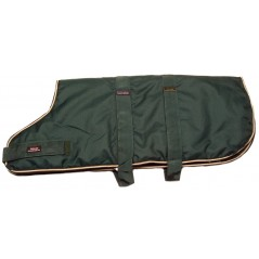 "DJW28PG 28"" Green Breathe-Comfort Dog coat with Padded Lining"