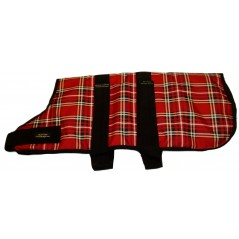 "DJW20TPR 20"" (51cm) Red Tartan Padded Breathe-Comfort Waterproof Coat"