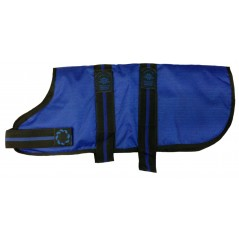 "DJD20B 20"" Blue Padded Fashion-Line Breathe-Comfort Dog coat with Padded Lining"