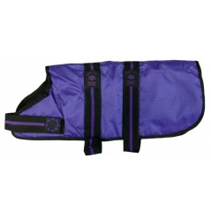"DJD26P 26"" Purple Padded Fashion-Line Breathe-Comfort Dog coat with Padded Lining"