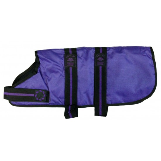 "DJD22P 22"" Purple Padded Fashion-Line Breathe-Comfort Dog coat with Padded Lining"
