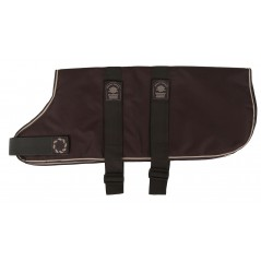 "66226 26"" Brown Padded Dog Coat with Adj strap (For larger Dogs)"