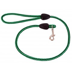 DP6180G/B 60 inch x 9mm Green/Black Harlequin Lead with Trigger Hook