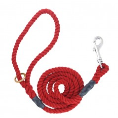 DC6161R 8mm x 48 inch Red Gun Dog Lead with Trigger Hook