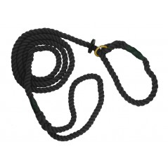 DC8380B 12mm x 60 inch Black Gun Dog Slip Lead