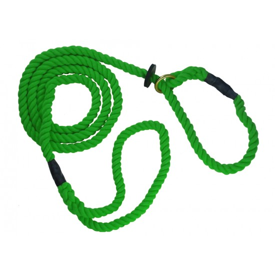 DC8380G 12mm x 60 inch Green Gun Dog Slip Lead