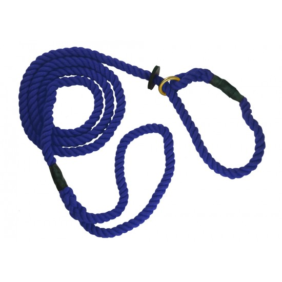 DC8390N 12mm x 72 inch Navy Gun Dog Slip Lead