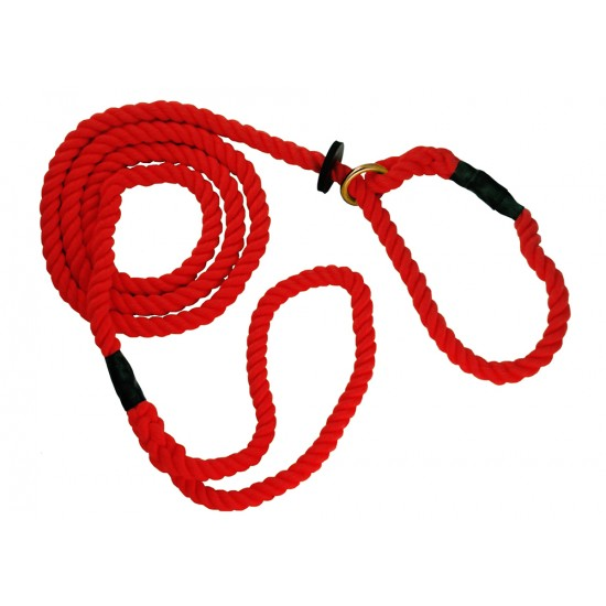 DC8390R 12mm x 72 inch Red Gun Dog Slip Lead