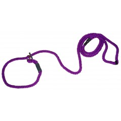 DC6390PP 8mm x 72 inch Purple Gun Dog Slip Lead