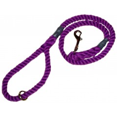 DC6151PP 8mm x 39 inch Purple Gun Dog Lead with Trigger Hook