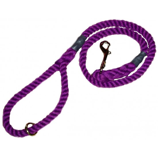 DC8151PP 12mm x 39 inch Purple Gun Dog Lead with Trigger Hook