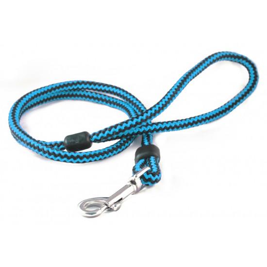 DP4150B/B 40 inch x 6mm Blue/Black Harlequin Lead with Trigger Hook