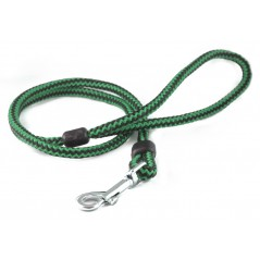 DP4150G/B 40 inch x 6mm Green/Black Harlequin Lead with Trigger Hook