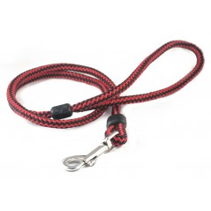 DP8130R/B 30 inch x 12mm Red/Black Harlequin Lead with Trigger Hook