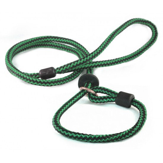 DP6280G/B 60 inch x 9mm Green/Black Harlequin Slip Lead