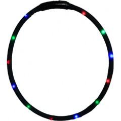 30843 70cm Flashing LED Band Black - Cut to size