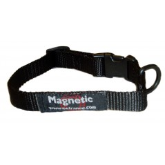 "DM28Bk 25mm x 22""-28"" Black Magnetic Collar"