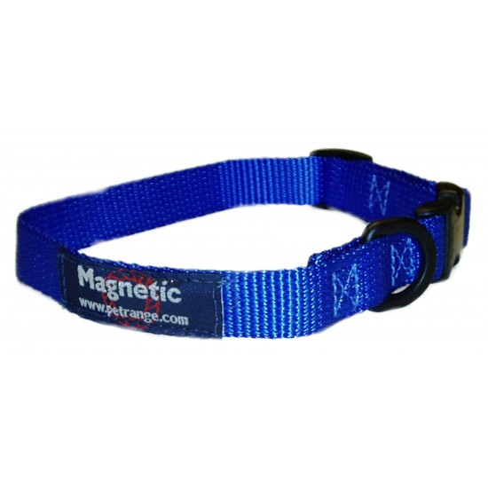 "DM22B 25mm x 18""-22"" Blue Magnetic Collar"