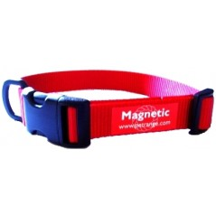"DM28R 25mm x 22""-28"" Red Magnetic Collar"