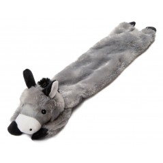 Grey Donkey Stuffed Head