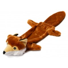 Fox Stuffed Head Water Bottle Toy