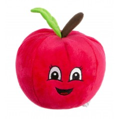 Plush Red Apple