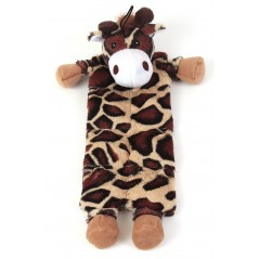 88171 Flat Moo Cow Toy with Multi Squeakers Panels