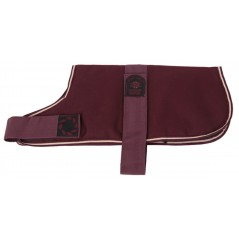 "DJW10PM 10"" Maroon Breathe-Comfort Dog coat with Padded Lining"