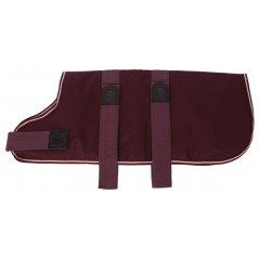"DJW24PM 24"" Maroon Breathe-Comfort Dog coat with Padded Lining"
