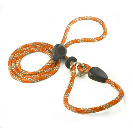 DD6360O 9mm x 46 inch Orange Rainbow Slip Lead