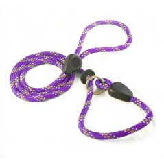 DD6380P 9mm x 60 inch Purple Rainbow Slip Lead