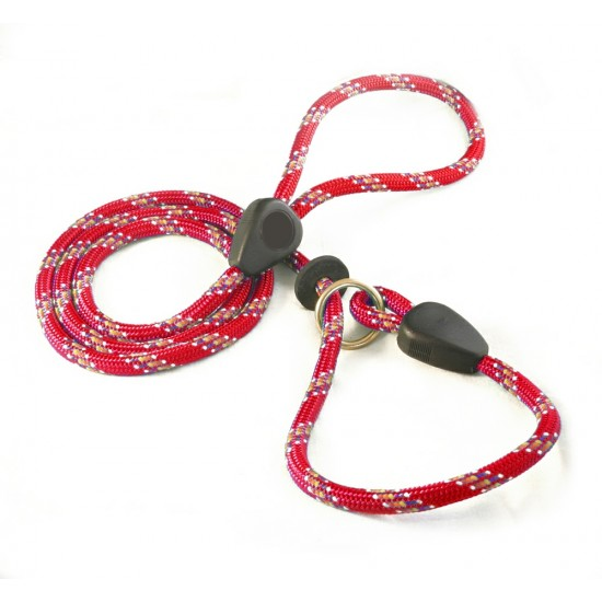 DD6360RR 9mm x 46 inch Red Rainbow Slip Lead