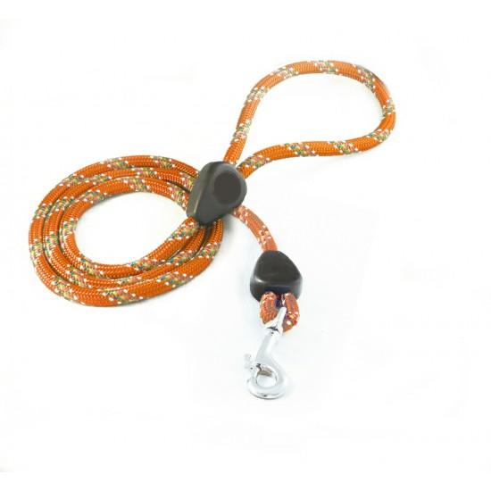 DD6160O 9mm x 46 inch Orange Rainbow Lead with Trigger Hook
