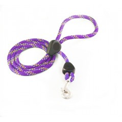 DD6180P 9mm x 60 inch Purple Rainbow Lead with Trigger Hook