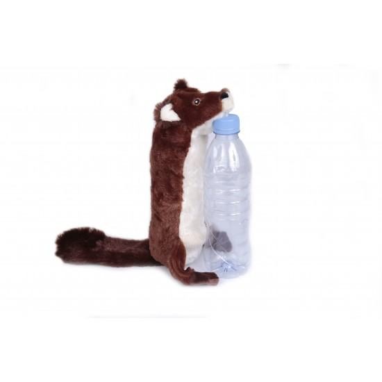 Beaver Bottle Fill Squeaky Toy