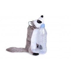 Raccoon Bottle Fill Squeaky Toy