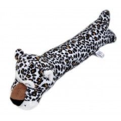 Leopard Door Stop Squeaky Toy