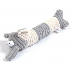 Grey Cord Elephant Door Stop