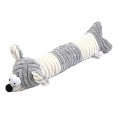 Squeaky Grey Cord Mouse Door Stop