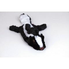 "88013 12.5"" Skunk Flat Friend Skin Dog Toy"