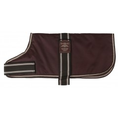 16920 An 8 inch Brown Padded Nylon Dog Coat by Animate