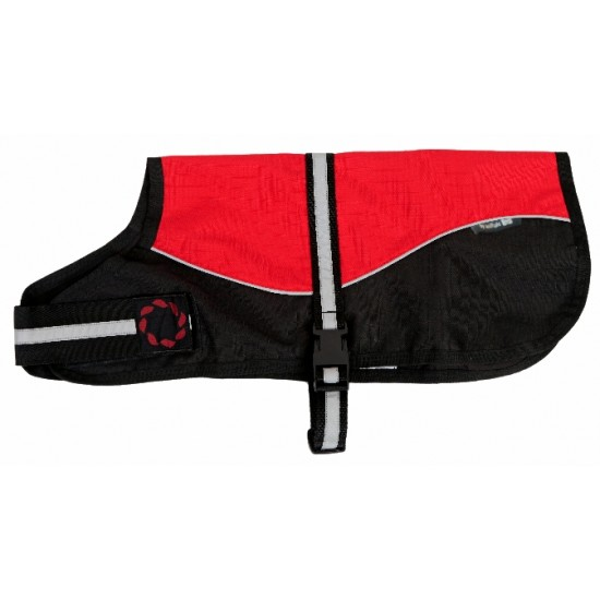 Reflective Red/Black Unlined 12 inch  (30cm)